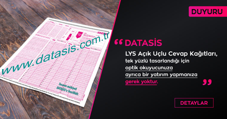 LYS AÇIK UÇLU OPTİK FORM